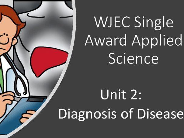 Diagnosis of Disease - WJEC Applied Science Single Award