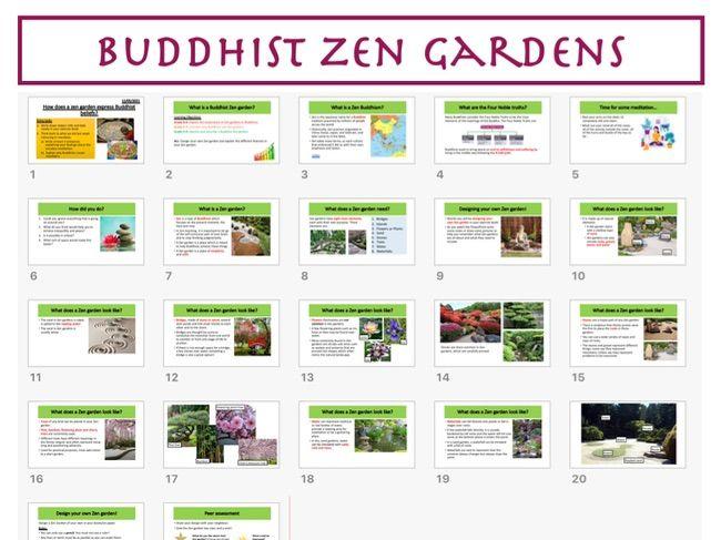 Buddhist Zen Gardens