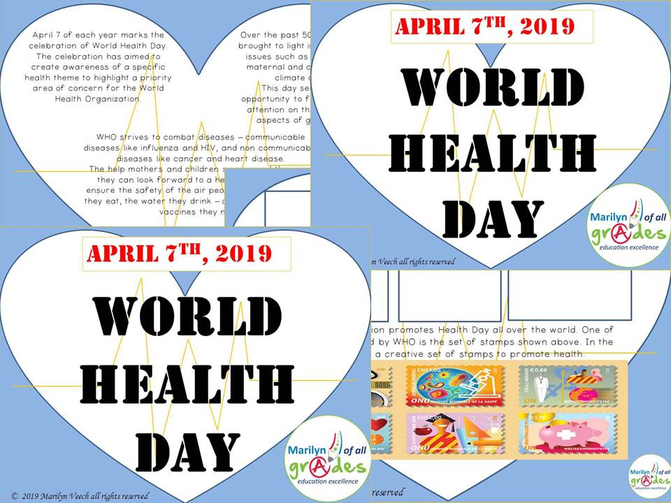 World Health Day. Activities & Worksheets