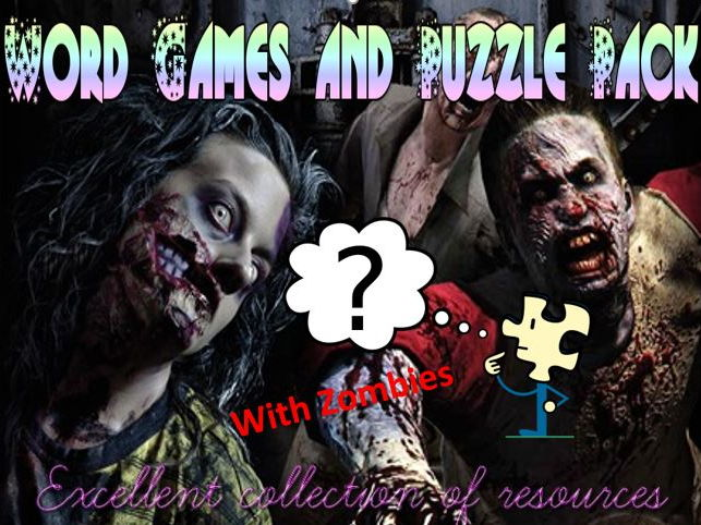 Liteacy Word Games and Quiz Pack with Zombies!
