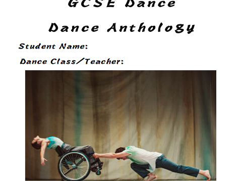 Artificial Things Student Booklet GCSE Dance 2017