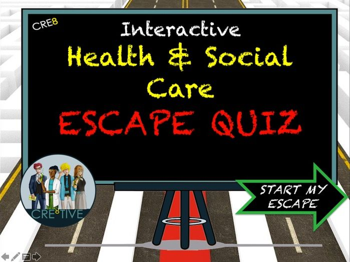 Health and Social Care Escape Quiz