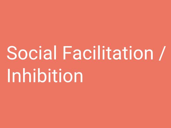 A-Level PE (OCR): Social Facilitation / Inhibition.
