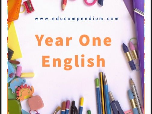 Year One English Sentence Starter pack with fab  printable papers
