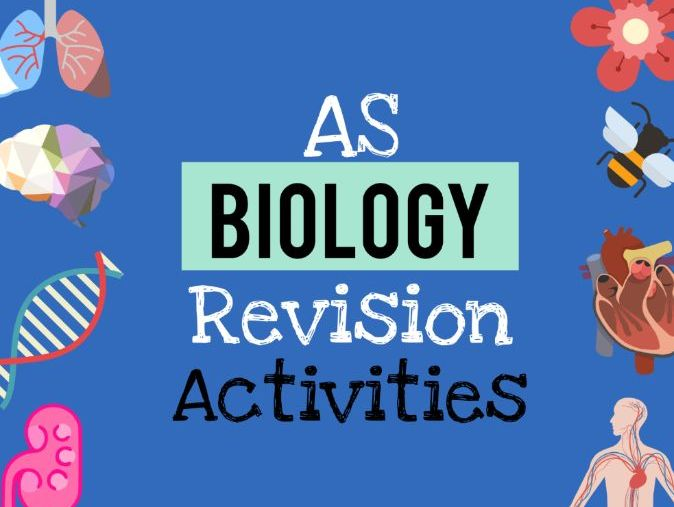 AS Biology revision activities pack