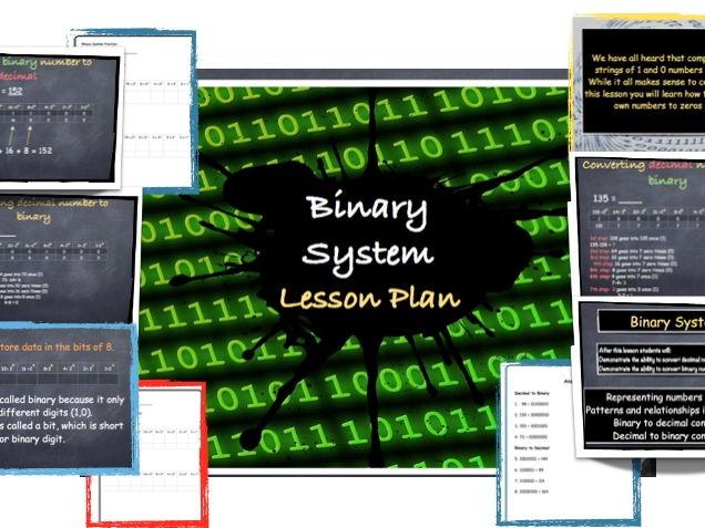 Binary System Conversion - Lesson Plan