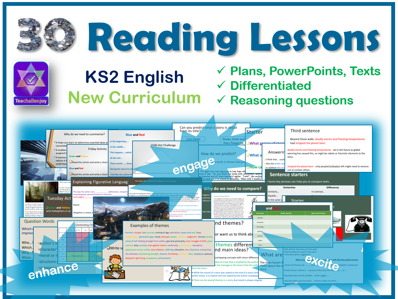 Whole Term of Daily Comprehension Lessons on Reading Skills Bundle 1