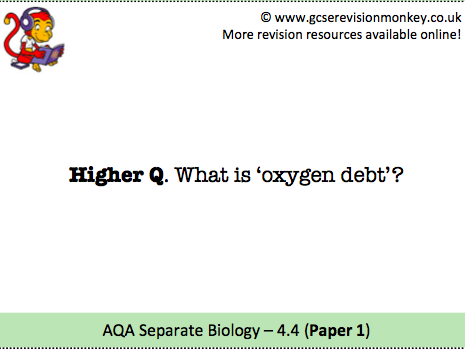 Revision Cards - AQA Separate Biology 4.4