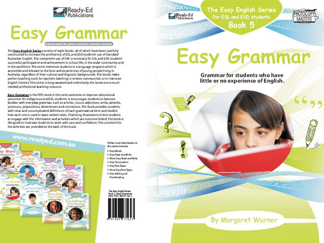 Easy English Book 5: Easy Grammar (Australian E-book for ESL and At Risk Students)