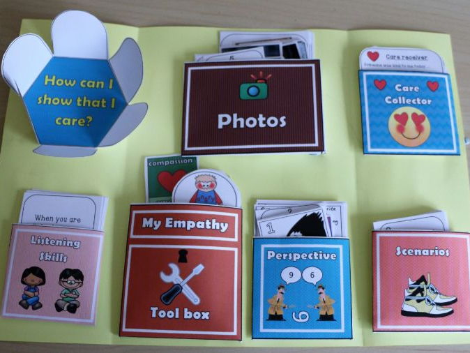 Emotions - Empathy, Kindness Lapbook resource pack