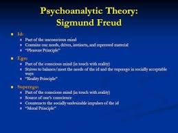 Psychoanalytic Theory:  Sigmund Freud