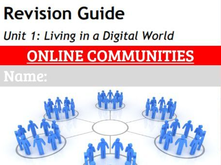 GCSE ICT Revision workbook 5: Online Communities