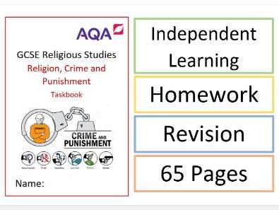 AQA Religion, Crime and Punishment: Task Book / Activity Book