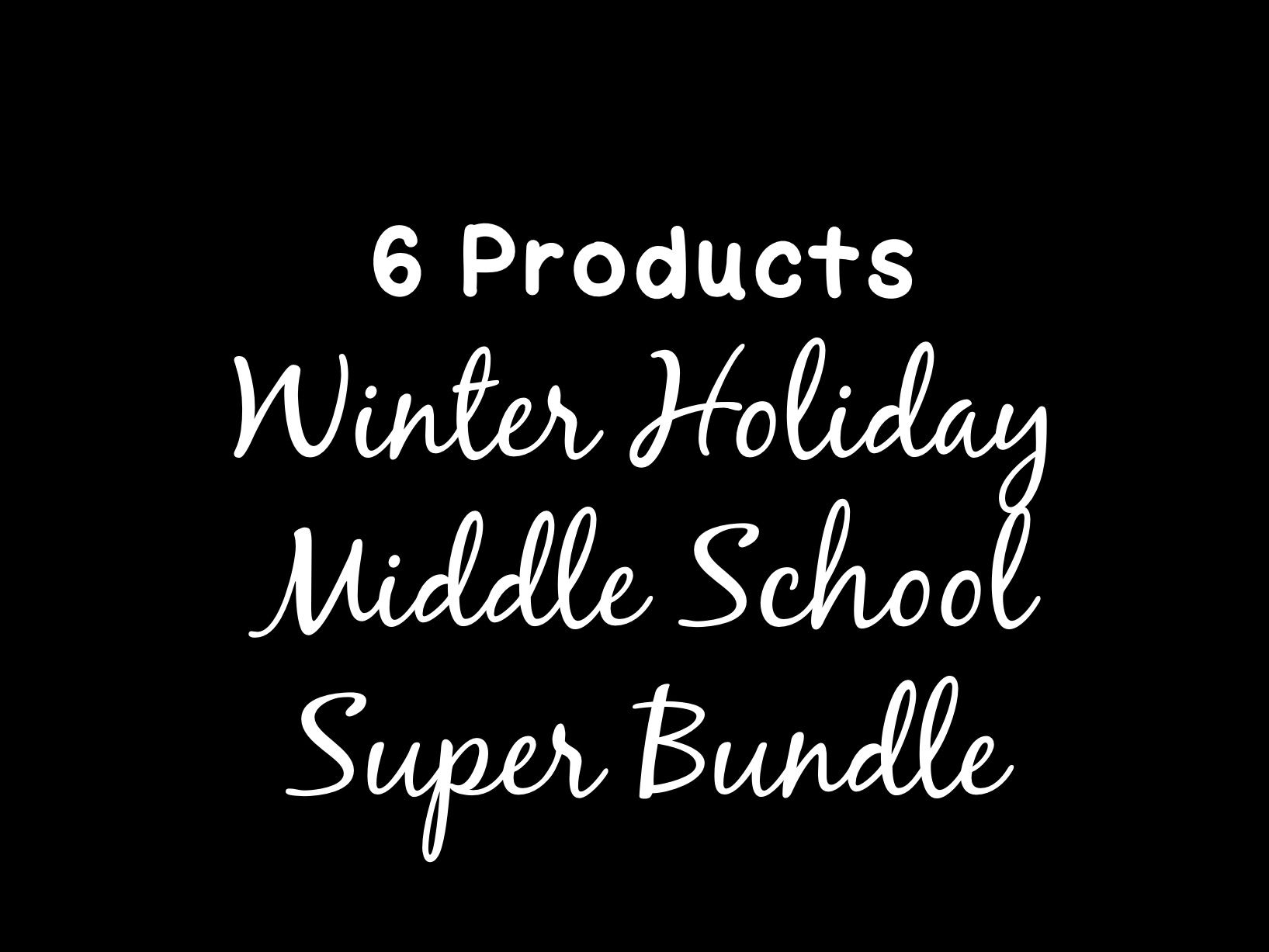 Winter Holidays Christmas Fall Super Bundle Solving Equations  Proportions Distributive Property
