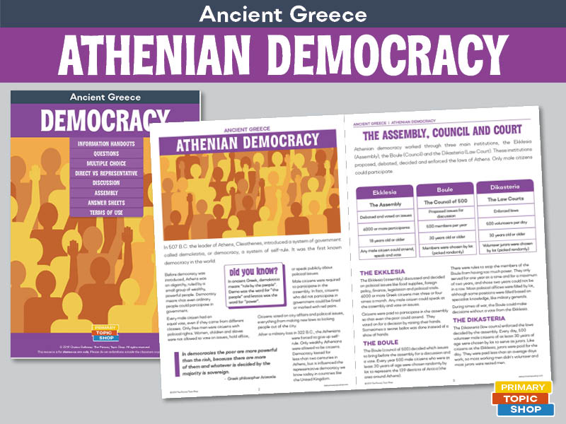 Ancient Greece - Athenian Democracy