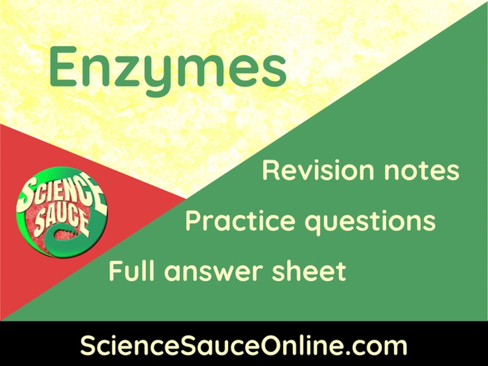 AQA B2 12 - Making use of enzymes and high-tech enzymes