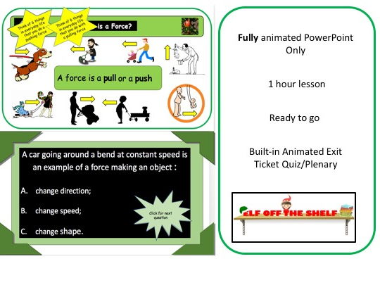 Forces Introduction KS3- PowerPoint Only