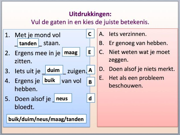 Intermediate Dutch - Health - Suitable for B1-2 Learners.