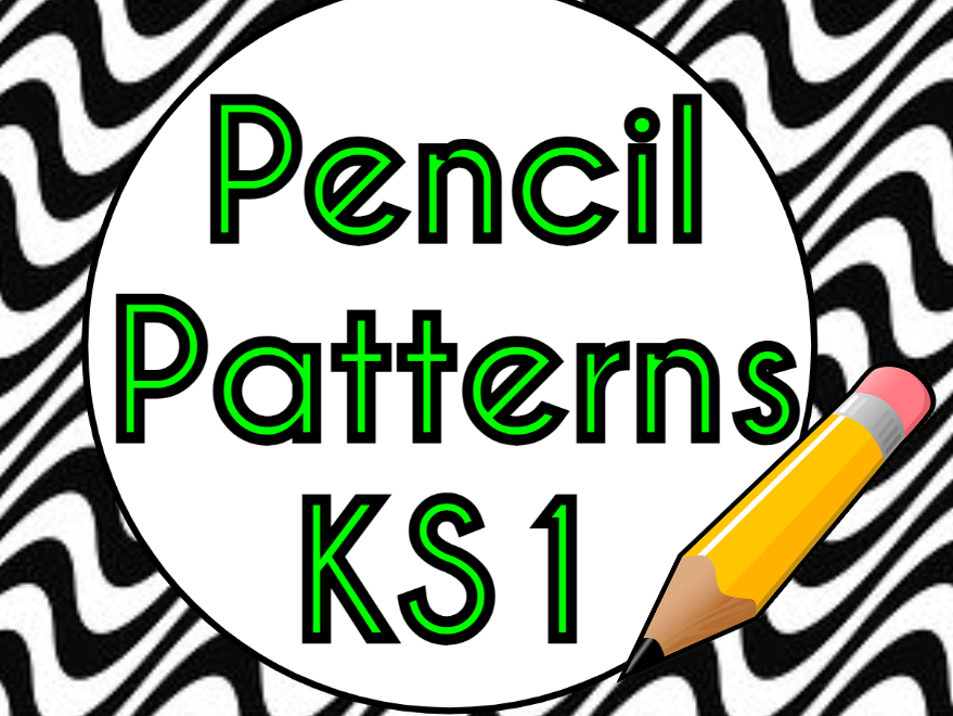Pencil Patterns EYFS and KS1