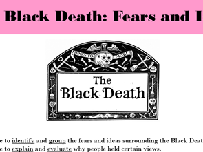 The Black Death: Fears and Ideas