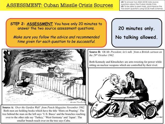 Cuban missile crisis worksheet answer