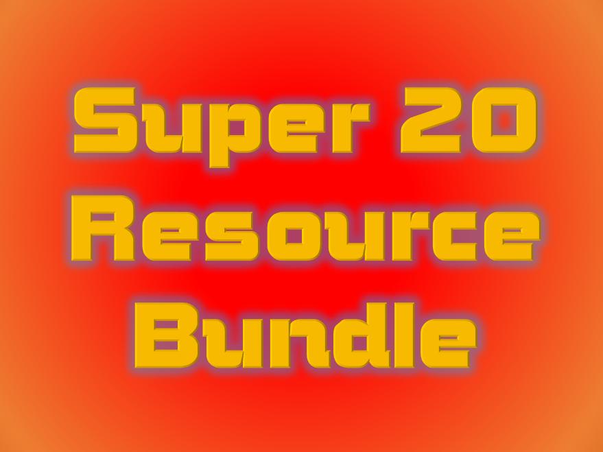 Super 20 Music Resource Bundle