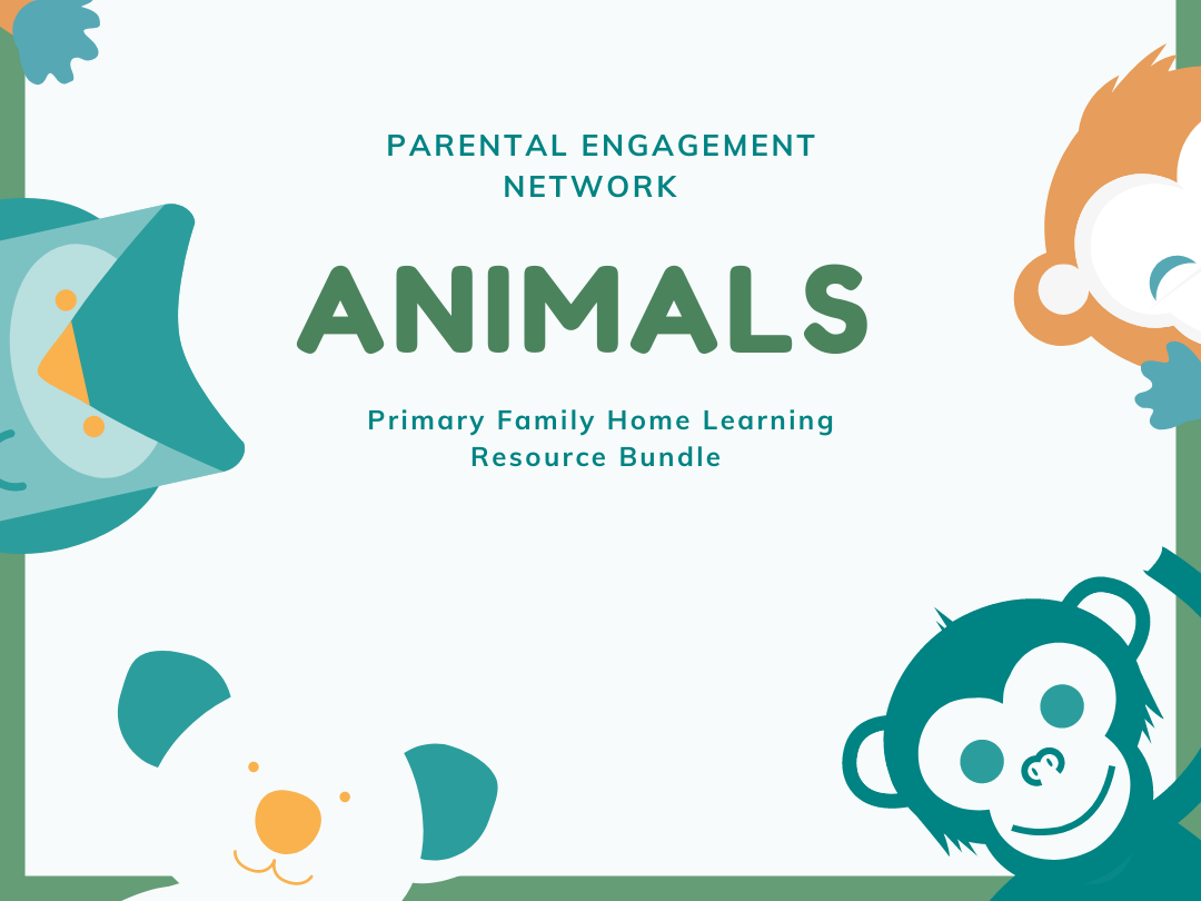 Animals Primary Family Home Learning Resource Bundle