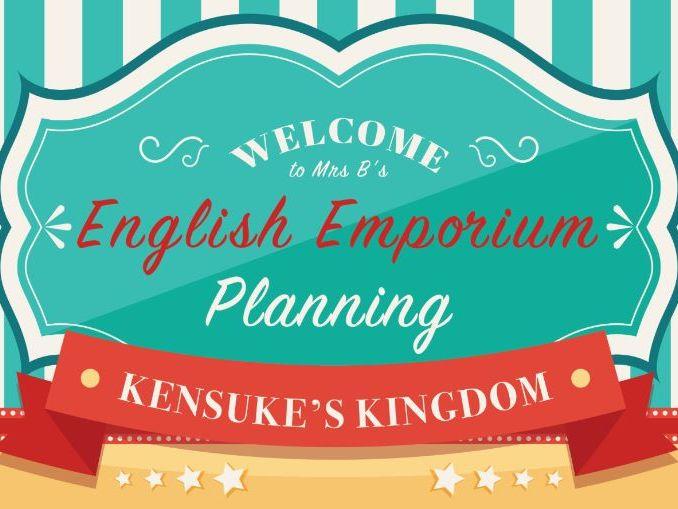 Yr5/6 English MTP for Kenuke's Kingdom