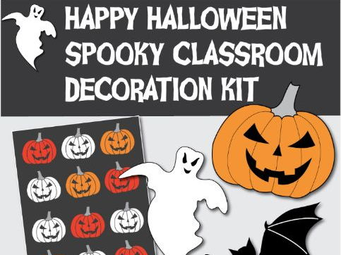 Spooky Halloween Classroom Decoration Kit