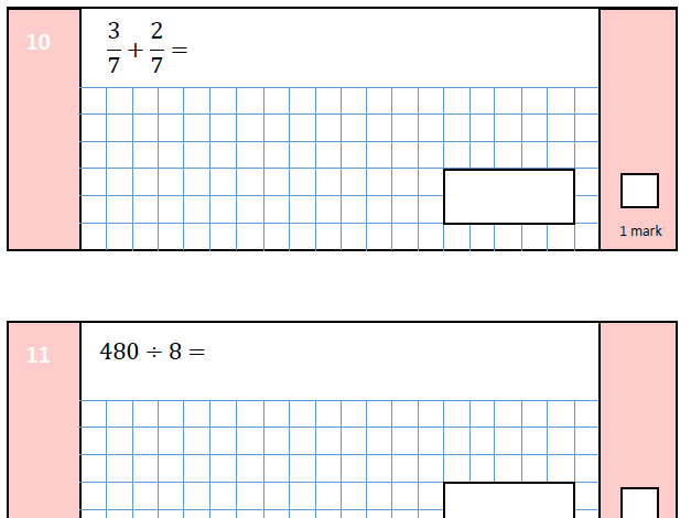 KS2 SATS 2016: Arithmetic Paper 1: SAMPLE A  (with answers)