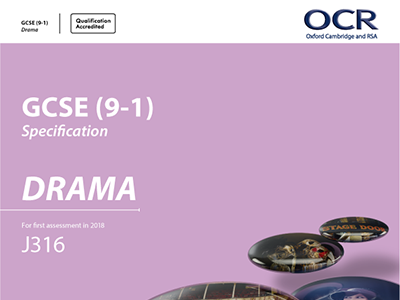 OCR GCSE Drama (9-1) Portfolio Guidance Booklet