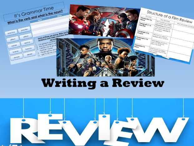 Writing a Film Review: Black Panther and Captain America