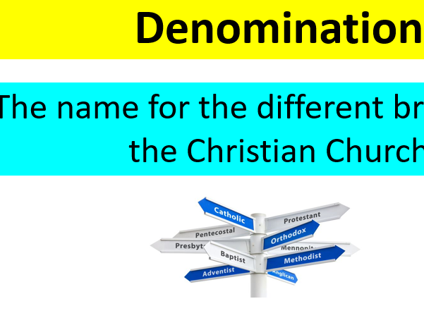 GCSE Edexcel B Religious Studies Living the Christian Life Keyword and definition display