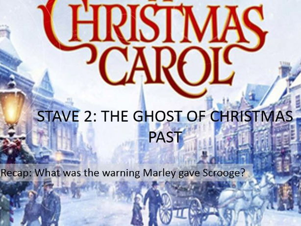 A Christmas Carol: Stave Two Lessons