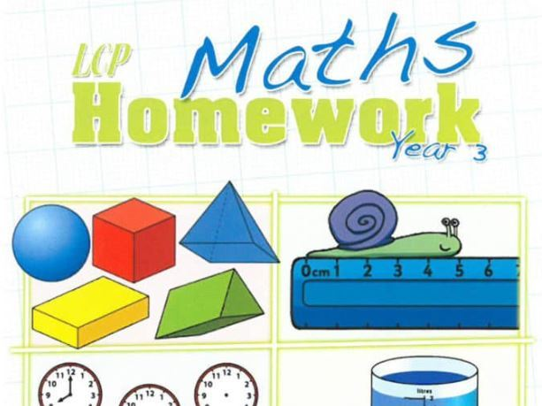 Year 3 Maths Home Learning Pack (45 sheets) including Answers and Parental Guidance