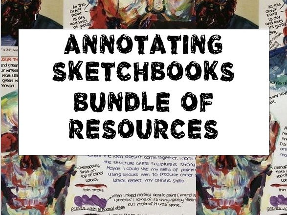 Annotating Sketchbooks Bundle.