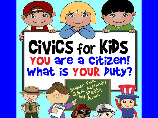 CiViCS 4 KiDS >You Are a CITIZEN-What is Your DUTY? Ethics Activity PowerPoint
