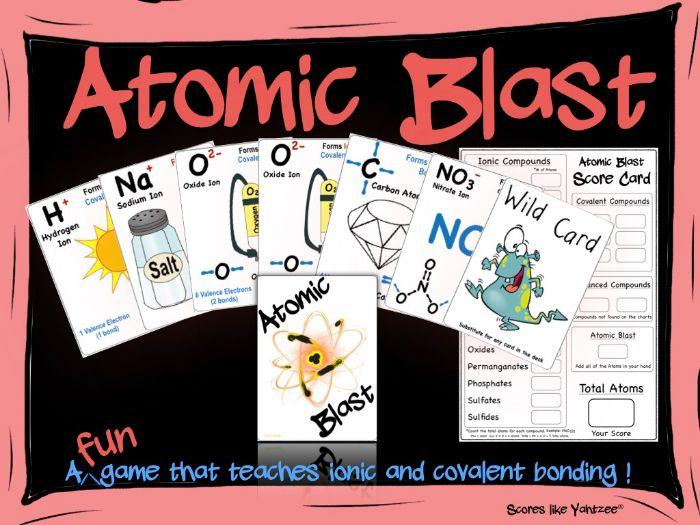 Atomic Blast Game!