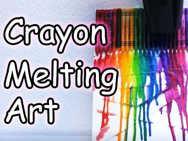 Crayon Melting | Art meets Science