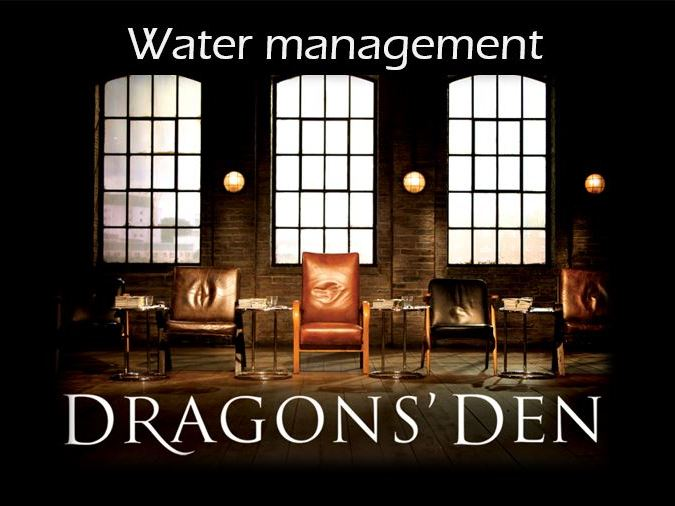 Water resource management activity
