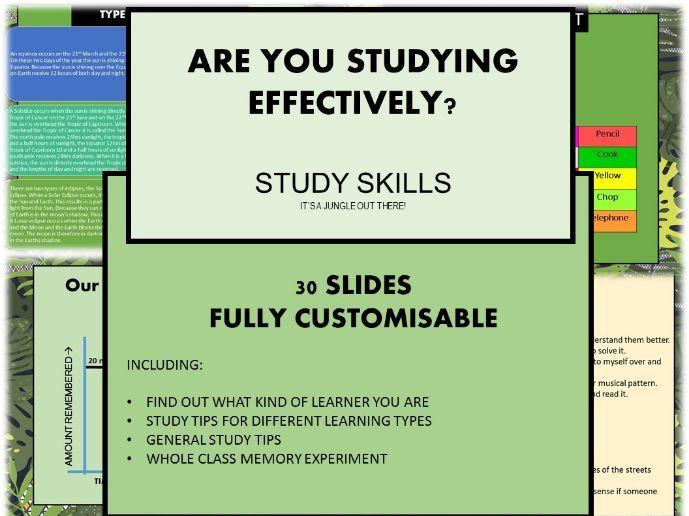 Are You Studying Effectively? Study Skills and Learning Types