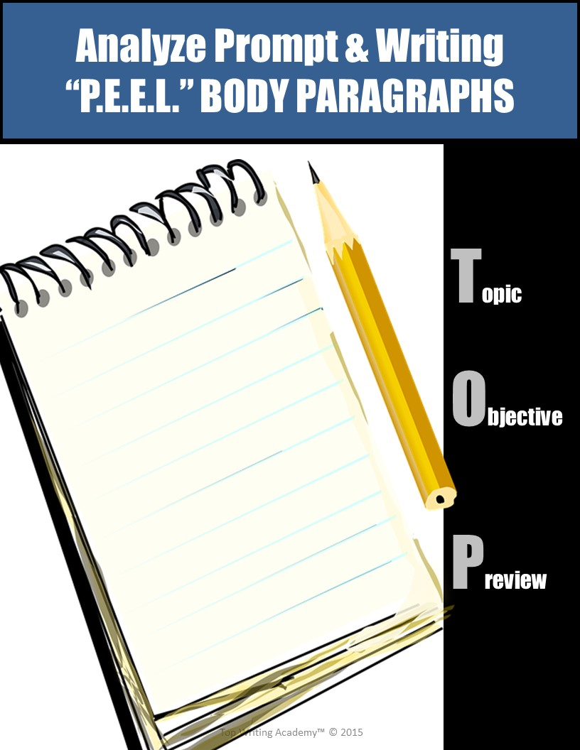 Body PEEL Paragraphs Essay Writing Fundamentals