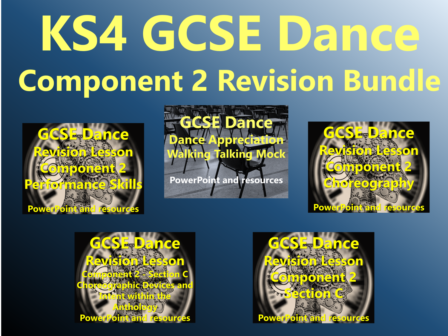 KS4 GCSE Dance Component 2 Revision Bundle