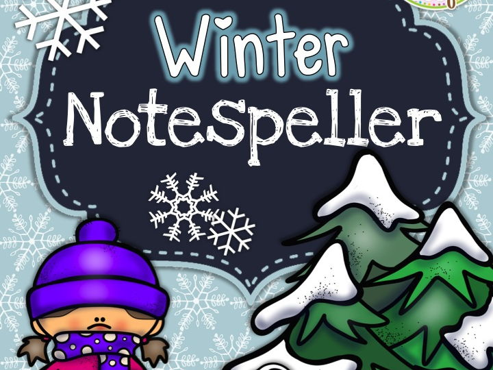 Winter Note Speller