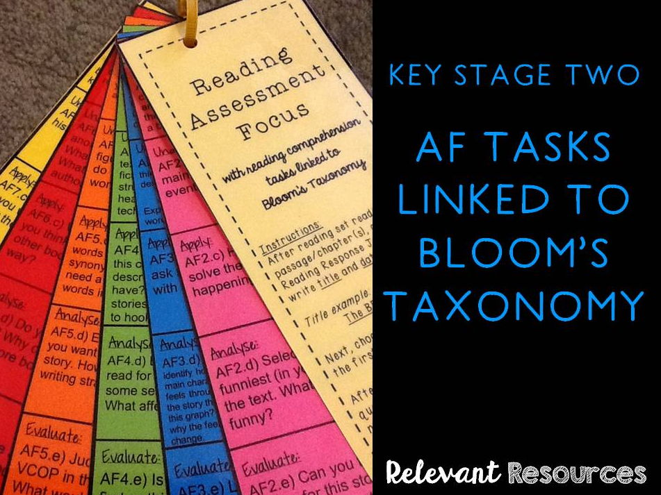 AF Tasks with Bloom's Taxonomy