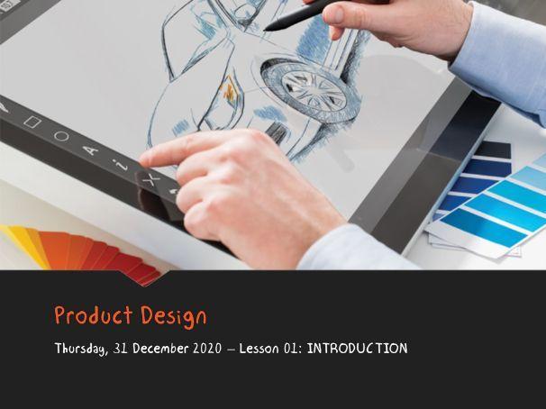 Product Design GCSE - 01 Introduction