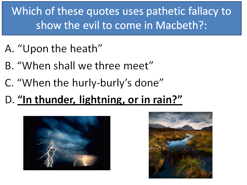 AQA GCSE new specification English Literature Paper 1 Macbeth - Quiz, model answer and exam tips.
