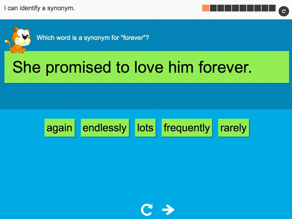Year 6 Spag - Identifying synonyms