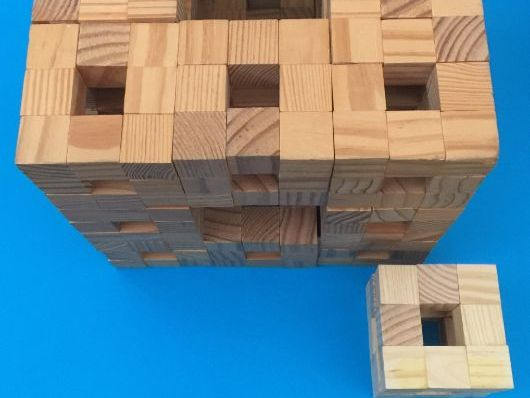 Inquiry: n cube sponge.