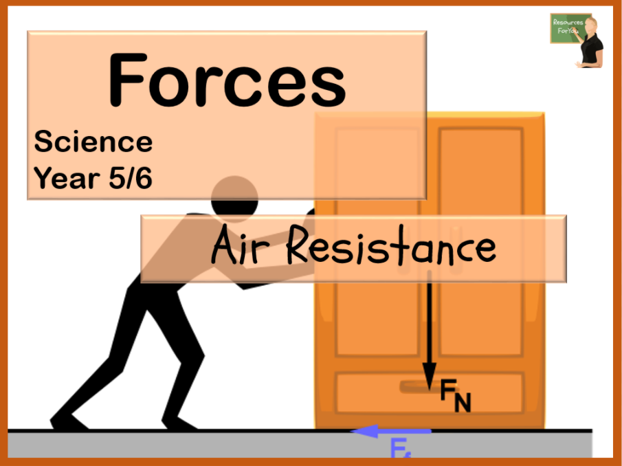Science- Forces- Air Resistance Year 5/6